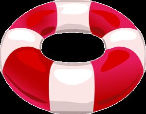 Rettungsaktion im Team zur Übung