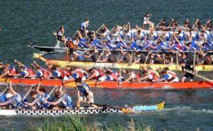 Drachenbootrennen ist eine Teamevent Ideen