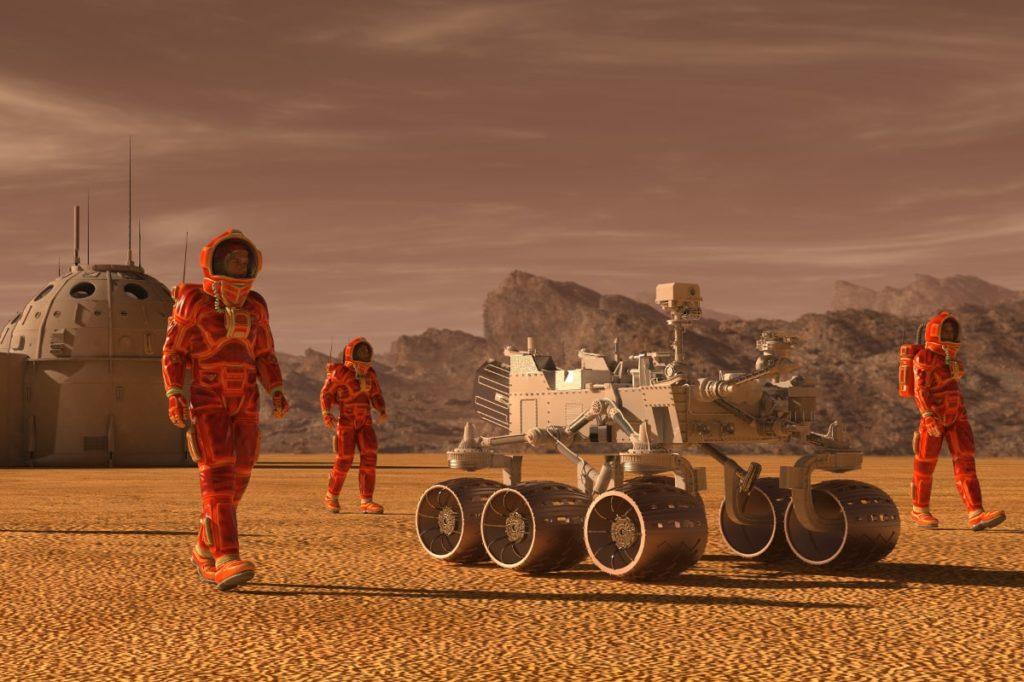 Mission to Mars online Teamspiel