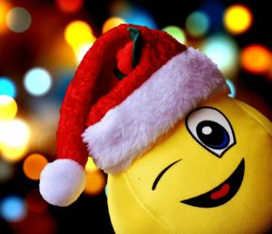 Spaß bei Weihnachtsspielen